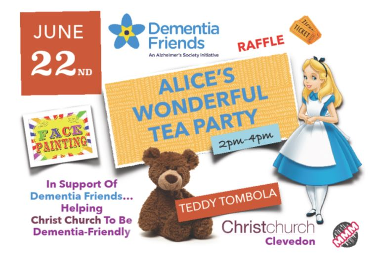 Alice's Tea Party - Saturday 22nd June
