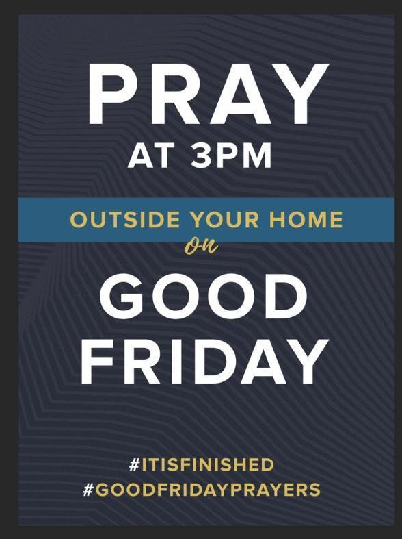 Good Friday Pray at 3pm