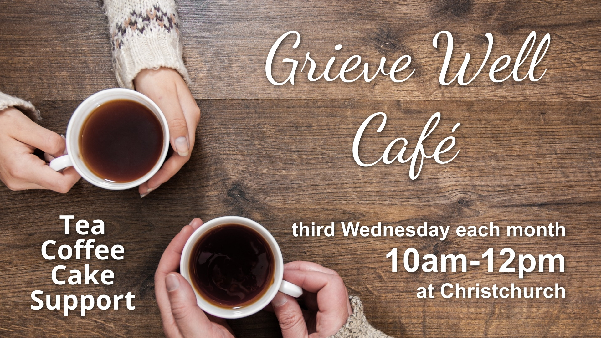 Grieve Well Café