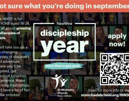 New Wine Discipleship Year